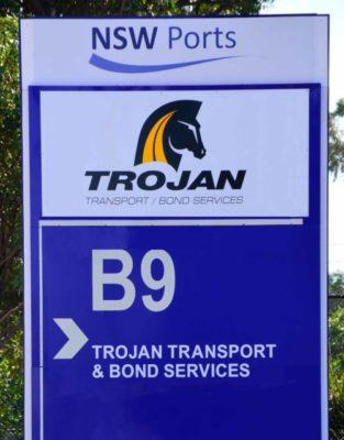 trojan sign